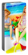 Beach Kids Portable Battery Charger