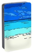 Beach Love Portable Battery Charger