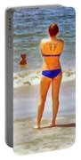 Beach Mom Portable Battery Charger