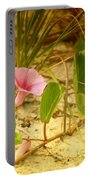 Beach Morning Glory Portable Battery Charger