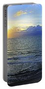 Beach Panorama Portable Battery Charger