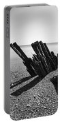 Beach Pilings Portable Battery Charger