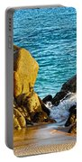 Beach Rocks Portable Battery Charger