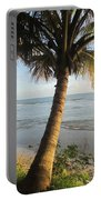 Beach Under The Palm 3 Portable Battery Charger