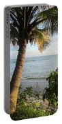 Beach Under The Palm 4 Portable Battery Charger