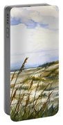 Beach Watercolor 3-19-12 Julianne Felton Portable Battery Charger