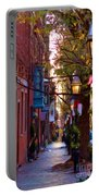 Beacon Hill Streets Portable Battery Charger by Joann Vitali