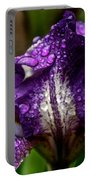 Beaded Iris Portable Battery Charger