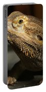 Bearded Dragon Profile Portable Battery Charger