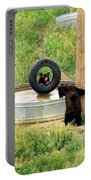 Bears At Play Portable Battery Charger