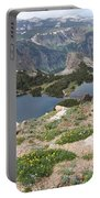 Beartooth Wildflowers Portable Battery Charger