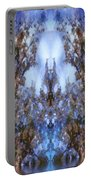 Beast In The Sacred Forest Portable Battery Charger