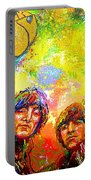 Beatles Rubber Soul Portable Battery Charger
