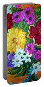 Beauties In Bloom Portable Battery Charger