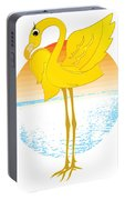 Beautiful Is The Flamingo Portable Battery Charger