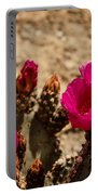 Beautiful Beavertail Cactus Portable Battery Charger