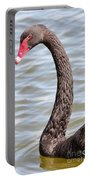 Beautiful Black Swan Portable Battery Charger