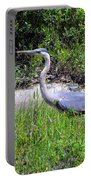 Beautiful Blue Heron Portable Battery Charger