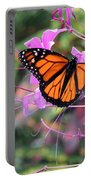 Beautiful Butterfly Portable Battery Charger