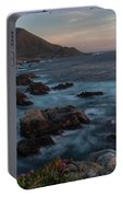 Beautiful California Coast In Spring Portable Battery Charger