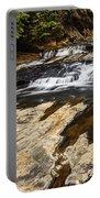 Beautiful Cascade In Western Ghats Karnataka India Portable Battery Charger