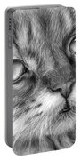 Beautiful Cat Portable Battery Charger by Olga Shvartsur