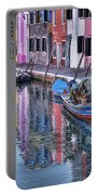 Beautiful Colors Of Burano Portable Battery Charger
