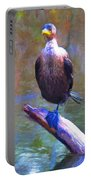 Beautiful Cormorant Portable Battery Charger