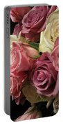 Beautiful Dramatic Roses Portable Battery Charger