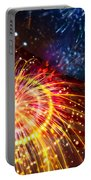 Beautiful Fireworks 8 Portable Battery Charger