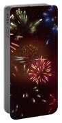 Beautiful Fireworks 9 Portable Battery Charger
