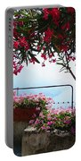 Beautiful Flowers Of Ravello Italy Portable Battery Charger