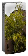 Beautiful Golden Chain Tree In Full Bloom Portable Battery Charger
