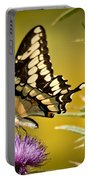 Beautiful Golden Swallowtail Portable Battery Charger