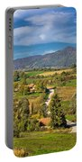 Beautiful Green Scenery Of Prigorje Region Portable Battery Charger