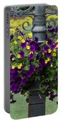 Beautiful Hanging Flowers Portable Battery Charger