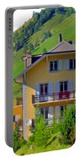 Beautiful House In Mont Blanc Portable Battery Charger