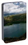 Beautiful Lake Guatavita Portable Battery Charger