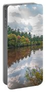 Beautiful Lake Reflections Portable Battery Charger