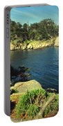 Beautiful Monterey Bay From Point Lobos Portable Battery Charger