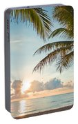 Beautiful Morning In Ft. Lauderdale Florida Portable Battery Charger