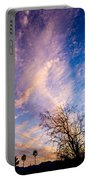 Beautiful Morning Sunrise Clouds Across The Sky Portable Battery Charger