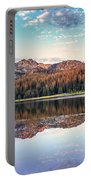 Beautiful Mountain Reflection Portable Battery Charger
