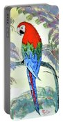 Beautiful Parrot For Someone Special Portable Battery Charger