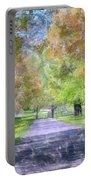 Beautiful Pathway Portable Battery Charger