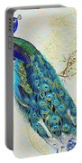 Beautiful Peacock-b Portable Battery Charger