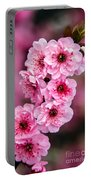 Beautiful Pink Blossoms Portable Battery Charger by Robert Bales