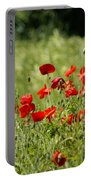 Beautiful Poppies 1 Portable Battery Charger