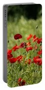 Beautiful Poppies 3 Portable Battery Charger