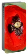Beautiful Poppies 9 Portable Battery Charger